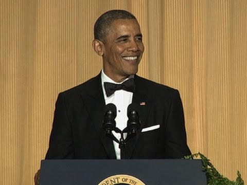Obama Quips at White House Correspondents Dinner:  'Orange is the New Black'