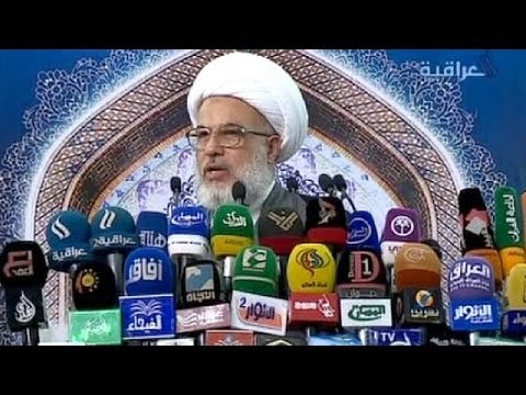 """Enter the Ayatollah:  Sistani calls on Iraqis to enlist in Fight against """"Terrorists"""""""