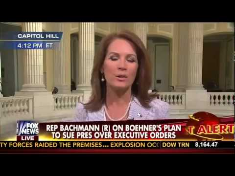 """Fox's Cavuto slams Bachmann on suing Obama: """"There's so much Wrong Here"""""""