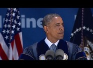 Obama Ridicules Science Denialists on Climate Change