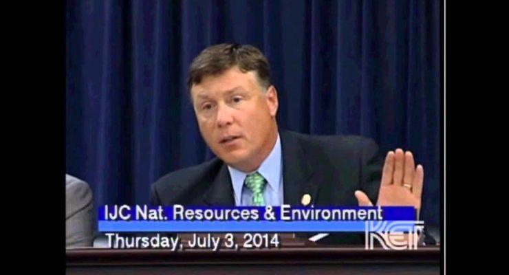 Kentucky Fried Brain Senator:  No Global Warming b/c Mars' temp. like Earth's