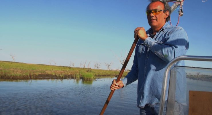 Global Warming & Louisiana Bayou:  Native Lands Submerged as Sea Levels Rise