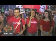 Largest Israeli anti-War Rally since Gaza Campaign Began