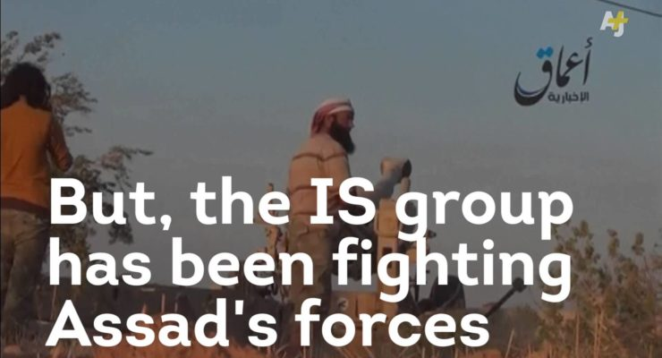 Obama, al-Assad and ISIL update FB Status:  It's Complicated