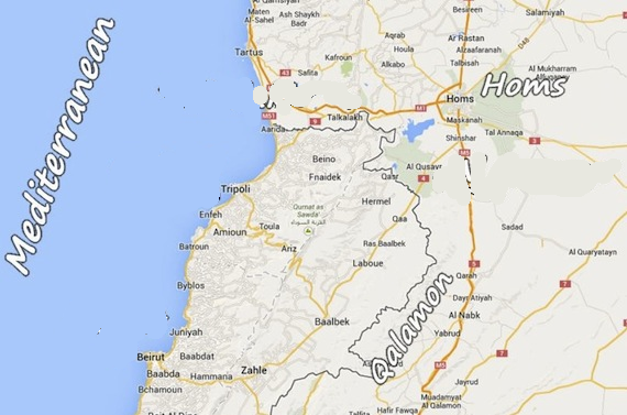 qalamoun-map