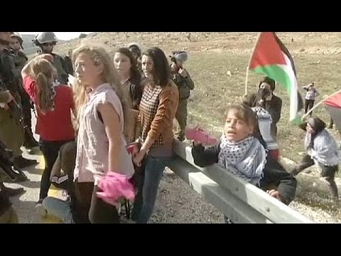 Israeli soldiers shoot Italian Activist in stomach at rally, wound 11 Palestinians
