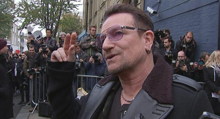 U2's Bono on 'Band Aid 30': Ebola is a 'political failure'