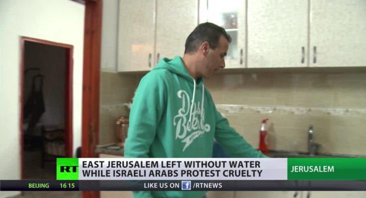 Arab East Jerusalem a la Detroit:  Being Starved of Water