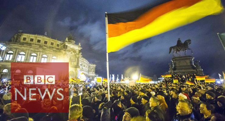 Germany Accepts 200,000 Asylum seekers in 2014; Thousands of Bigots Protest 'Islamization'