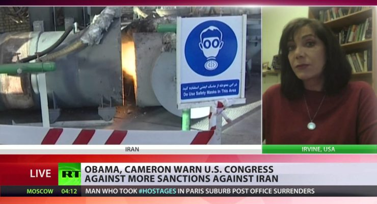 As Obama warns of veto re: GOP Sanctions, Iran says 'Political Will' can aid Nuclear Talks