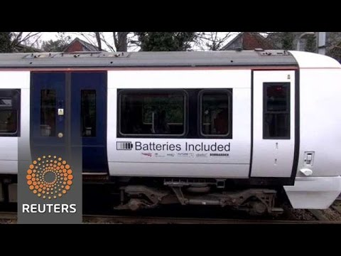 Abandoning Diesel: Battery-powered train brings low-carbon commuting to UK