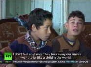 Gaza:  Child Survivors with PTSD – Aftermath of the Israeli offensive