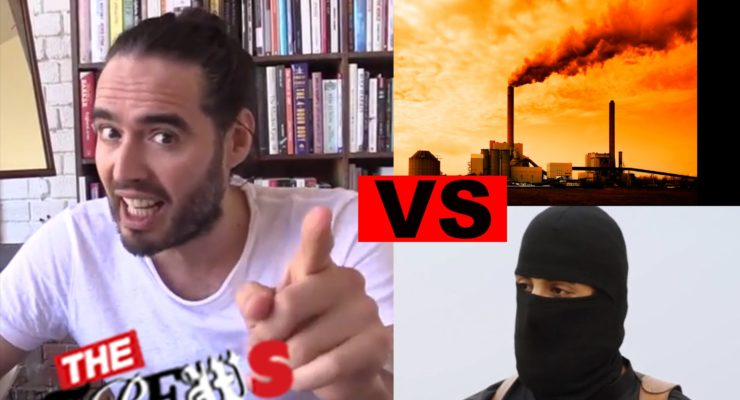 ISIS Vs Climate Change – Which Kills More? Russell Brand The Trews