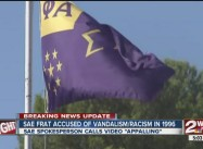 Oklahoma: SAE Fraternity has Troubled History of Race Vandalism, Hazing