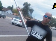 Armed Bikers Protest at Arizona Mosque