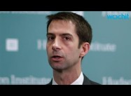 Tom Cotton's 'Chickenhawk' Taunt at Iran FM Demeans Jeb Bush, GOP Field