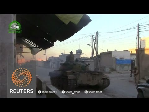 US Air Force Absent as Daesh/ ISIL advances on North Aleppo against Sunni Rebels