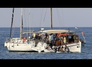 Israeli naval forces prepare to intercept Gaza Aid flotilla