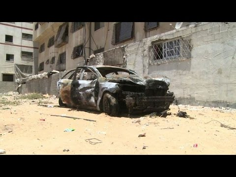 Did Daesh/ ISIL just hit Hamas in Gaza with Car Bombs?