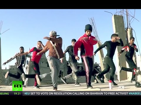 Gaza breakdancers perform to express themselves against war