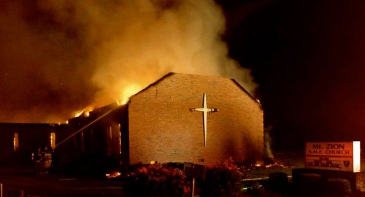Muslim-Americans raising $100K to Rebuild burned Black Churches