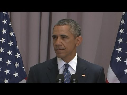 Obama: Opponents of Iran Deal are Warmongers