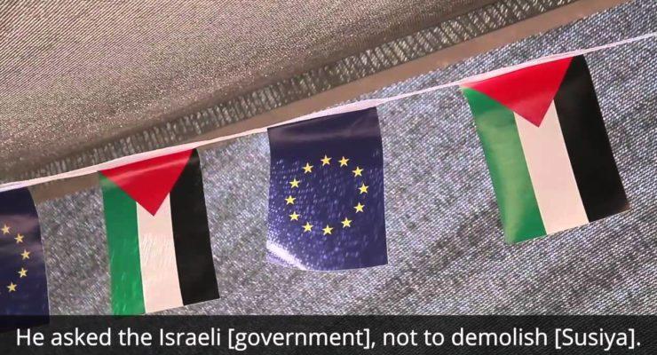 What if it were your kids' School the Israelis were demolishing?