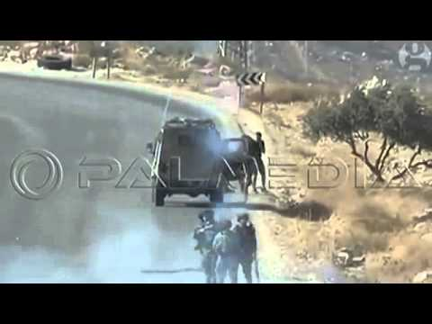 Israeli Soldiers Assault AFP Reporters at West Bank Demo