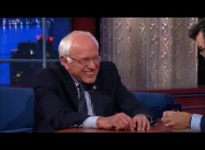 "Why Won't Bernie Sanders Take ""Socialist"" As An Insult?:  Stephen Colbert"