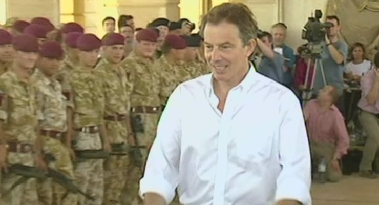 Bush Lapdog Blair can't Even Apologize Correctly for Destabilizing the Middle East