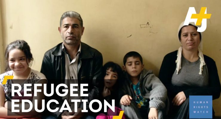 400,000 Syrian Refugee Children Can't Go To School In Turkey