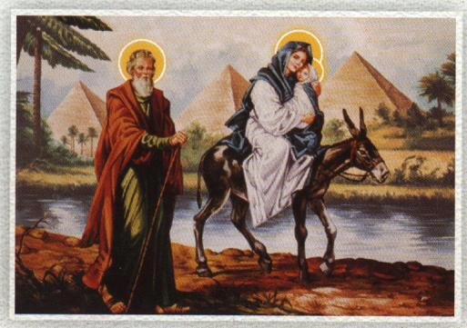 Holy Family flight to Egypt