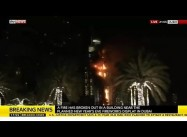 Huge Fire Engulfs Dubai Building Near New Year's Eve Fireworks