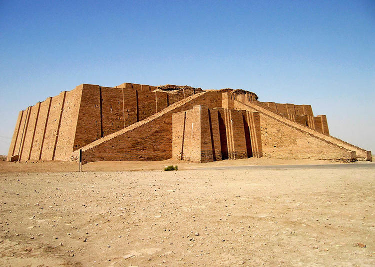 Ziggurat at Ur in Iraq