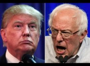 Is Corporate Media a danger to Society?  Coverage of Trump v. Sanders