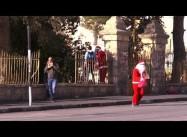 Israelis shoot 78 Palestinians & Santa Claus Protest Repressed in Bethlehem