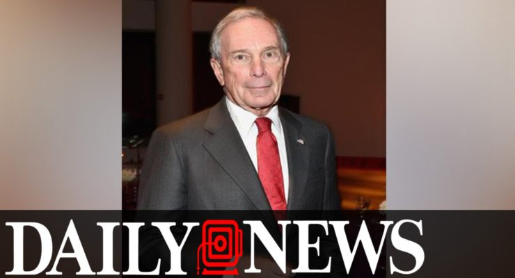 Fearing the Bern, Billionaire Bloomberg Threatens to Buy Election for Establishment