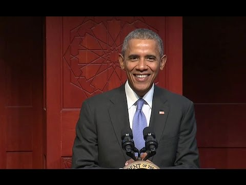 Obama Condemns hatred of Muslim-Americans, Affirms their Importance to Nation