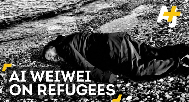 """Ai Weiwei Will Not Let You Forget About Europe's Refugee Crisis (AJ+)"""