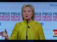 In PBS Debate, did Clinton succeed in Hurting Sanders with Black Voters?
