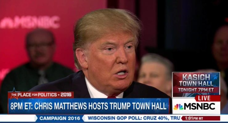 """Republican front-runner Donald Trump: Women's """"punishment"""" for abortions"""
