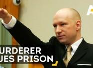 White Terrorist and Muslim-Hater Breivik Sues Norway over 'Inhumane Treatment'