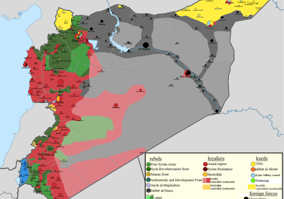 Baathist Riposte:  How the Regime Came back in the Syrian Civil War in 2014