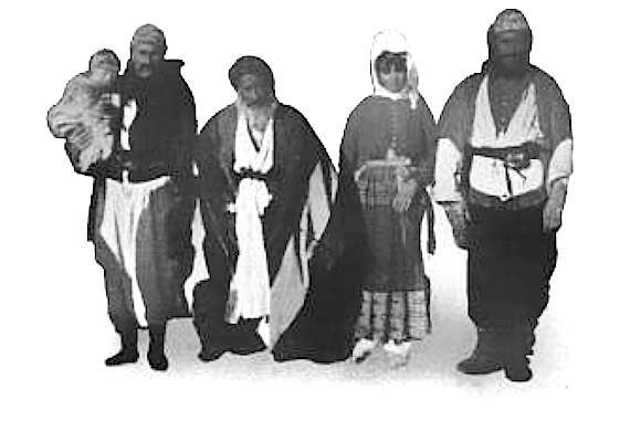 Yezidi Kurdish Family in Syria, 1899 (Photo of the Day)