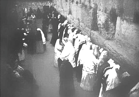 The Wailing Wall, Jerusalem c. 1900 (Photo of the Day)
