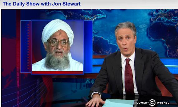 In Honor of Jon Stewart's Finale, that time he showed a Juan Cole clip re: al-Qaeda