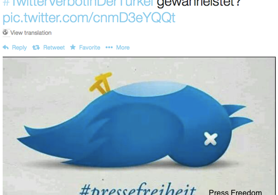 Top attempts by Dictators to Shut down Twitter in Mideast (including Turkey's PM Erdogan)