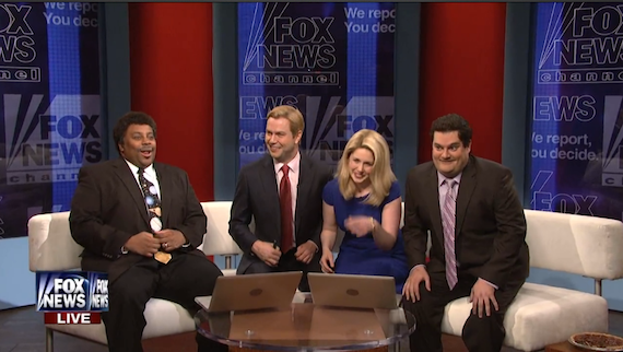 """Fox & Friends on Obamacare, Climate Change and Neil DeGrasse Tyson"" (SNL)"