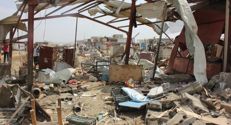 American Bombs Killing Civilians in Yemen, Report Finds