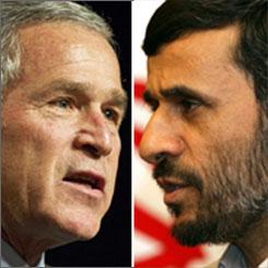 Bush Lies about Iran on Now-Ruz